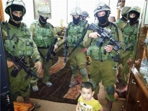 Brave Jewish soldiers subdue Palestinian toddler injure children in Hebron