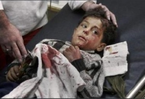 Palestinian child attacked by violent Jews
