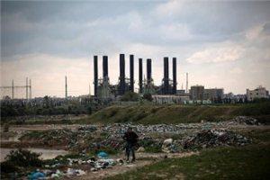 Gaza City power plant
