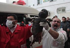 Cast Lead - baby killed by white phosphorous