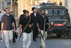 Violent Jewish settlers