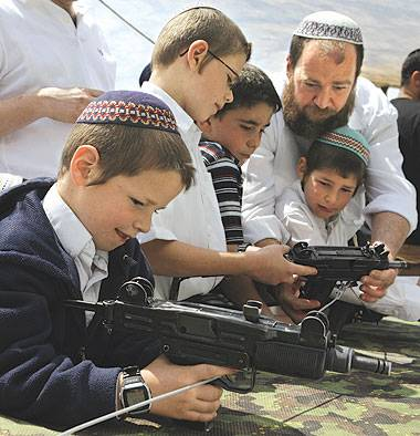 jewish boys with guns