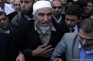 Sheikh Raed Salah, leader of Islamic movement in Israel.