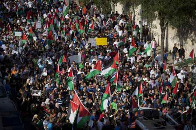 24 July Nazareth rally