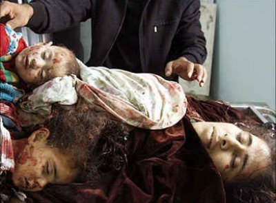 3 Palestinian child victims of Jewish soldiers who shelled their home