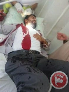 al-Aqsa - man shot by occupation forces. Ma'an