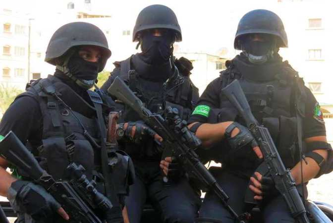 al-Qassam elite fighters 850