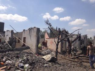 Beit Hanoun area destroyed