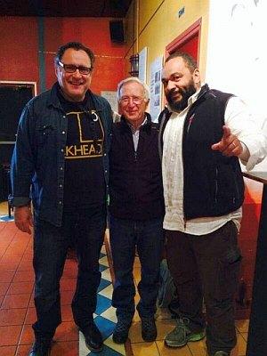 Dieudonné bonds with Gilad Atzmon and Jacob Cohen, two anti-Zionist Jews