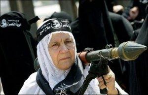 Elderly Palestinian lady resistor