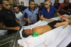 Gaza - 15 July death on the beach boy 1
