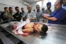 Gaza - 15 July death on the beach boy 3