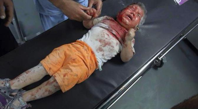 1 in 5 of gaza dead are children cintayati for 18 and tiny com