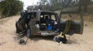 Gaza - 19 July - Jewish military vehicle destroyed by al-Qassam