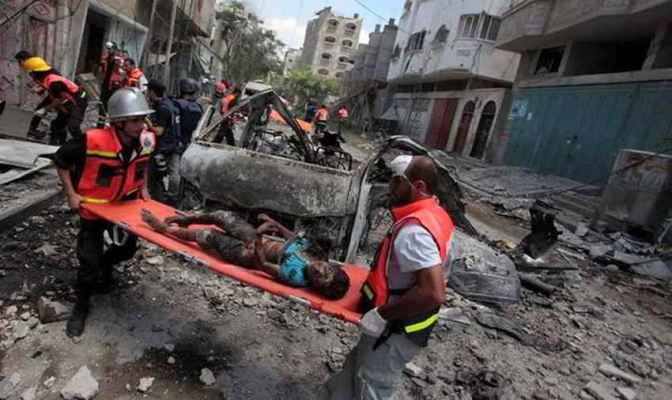Medical personnel claim Israel tested new weapons during war on Gaza