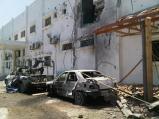 Gaza - 26 July Beit Hanoun hospital damage