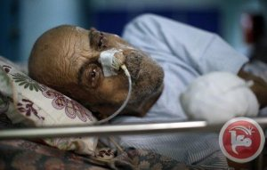 Gaza - al-Wafa patient elderly man. Jews want to kill him. Ma'an