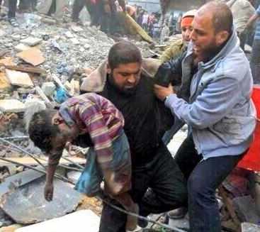 Gaza child killed by Jewish military strike 2014