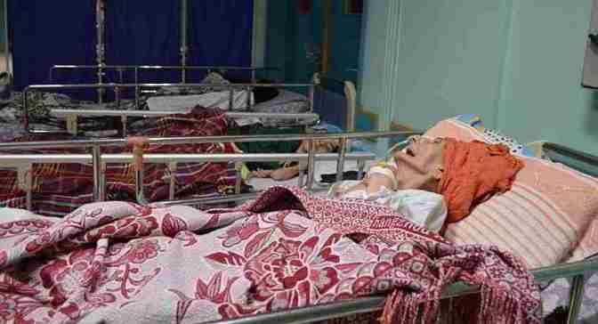 Fear grips Gaza geriatric hospital bombarded repeatedly by Israel