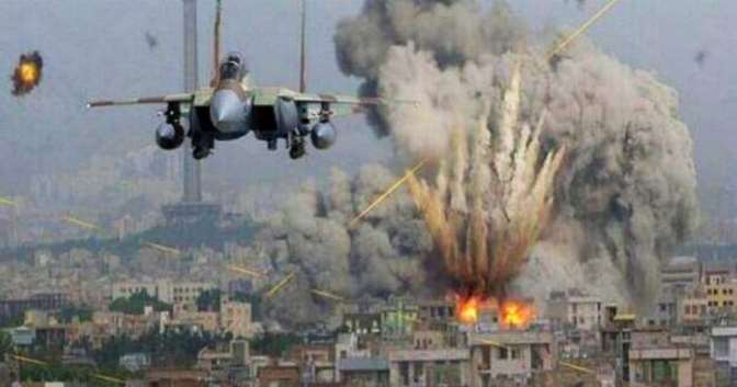 Gaza - Jewish military jet amid strikes in Gaza