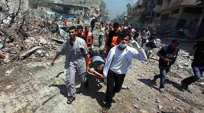 Gaza: Cast Lead Redux – UN School housing refugees