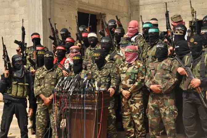 Gaza - resistance factions address