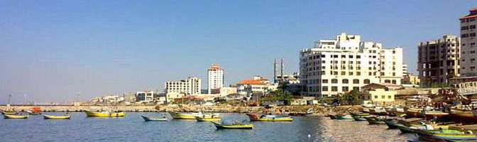 Gaza sea - one of the oldest cities in the world. Now you see why Jews want to destroy it.