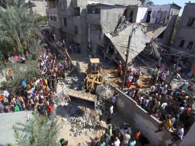 Gaza strike 2014