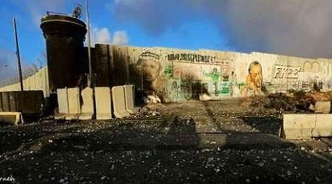 The uprising continues – Al-Aqsa opens fire at Qalandia