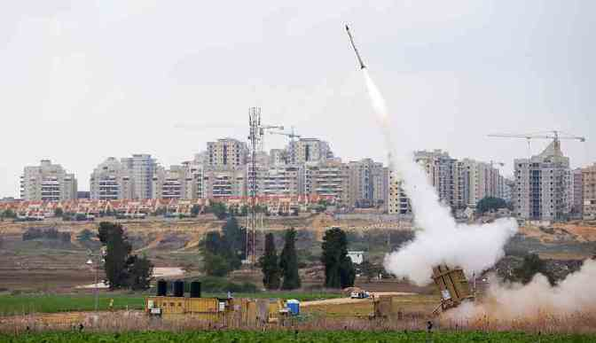 Hamas volleys strain Israel's Iron Dome system to limit