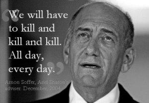 Israel is a killing machine