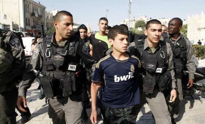 Occupation Forces Arrest 38 Palestinians from West Bank Areas and 1948 Areas