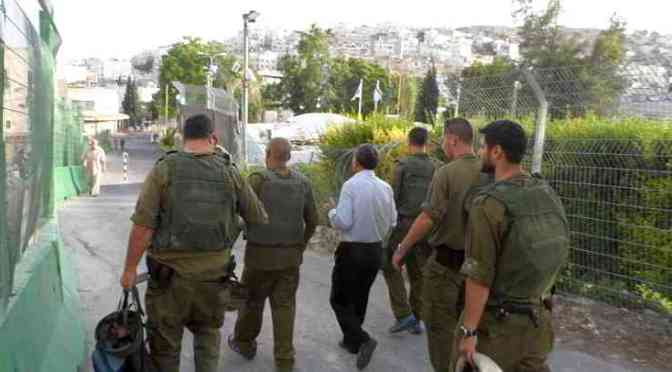 Including Two Legislators, At Least Twelve Palestinians Kidnapped In Hebron