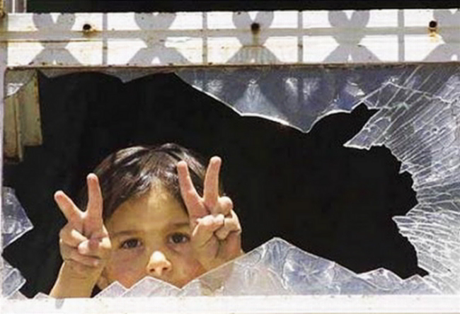 Jews lie Palestinian child is taught peace and wants to live like all children