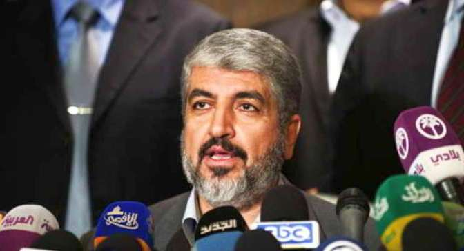 Meshaal: We are ready to coexist with Jews, but not 'occupiers'