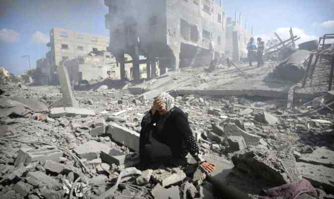 Israel's goal in Gaza: irreparable damage, unlivable