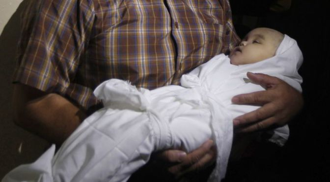 Gaza: Death toll over 1200 including whole families, over 7000 wounded
