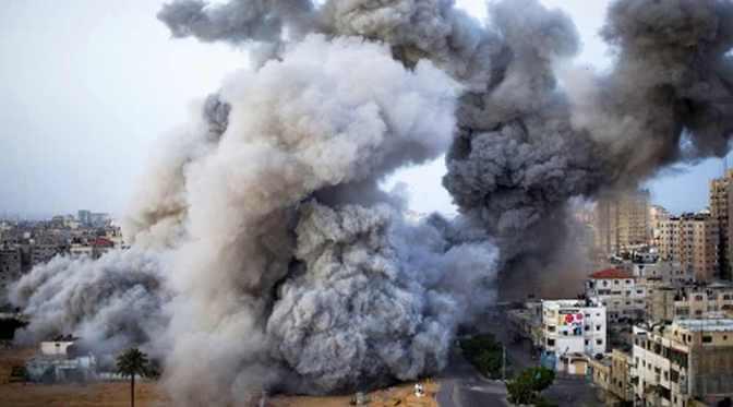 Massive Gaza destruction