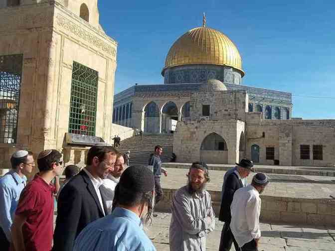 Lunatic settler MK demands Jewish control of al Aqsa
