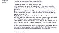 No goy should be taught Torah anyway