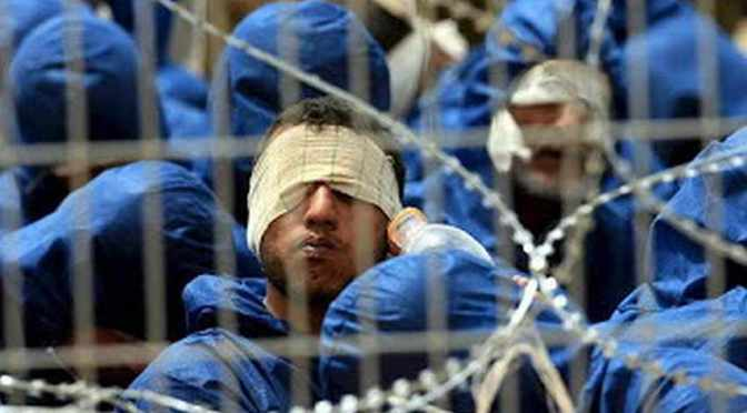 IPS special unit assaults Palestinian prisoners