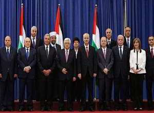 Palestinian unity government  June 2014