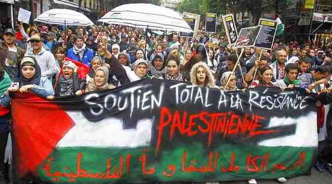 Different than Jewish media portrayed it: Violent Jews rampage in Paris