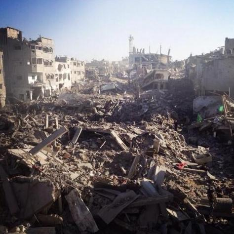 Scorched earth in Gaza