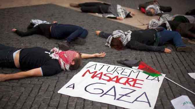 Pro-Palestinian Rallies across Spain Protest Israeli Aggression on Gaza