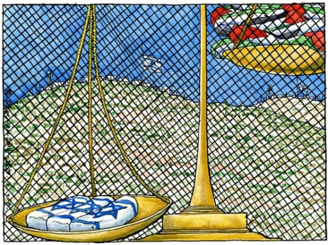 Steve Bell on events in the West Bank this week 02.07.2014