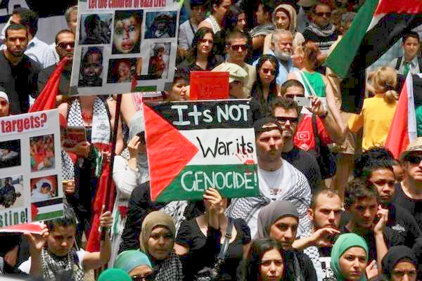 Sydney Asutralia: It's not a war, it's Genocide