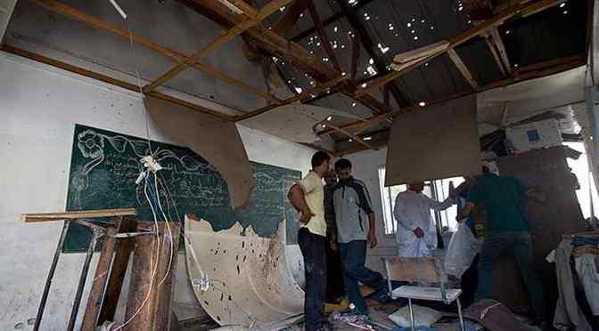 UNRWA school shelter bombing: it was no mistake