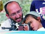 Violent Jew teaching son to be violent