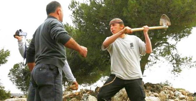 Palestinians clash with violent Jewish settler colonists near Ramallah